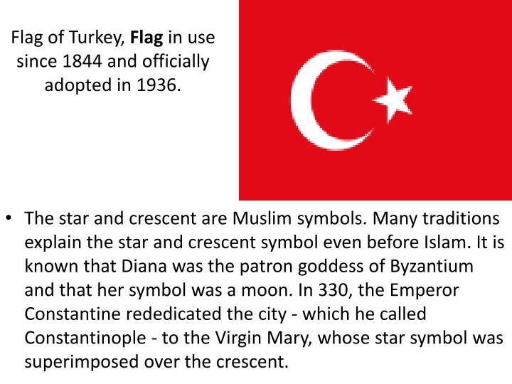 Flag of Turkey,