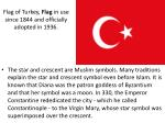 flag of turkey flag in use since 1844 and officially adopted in 1936
