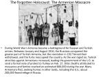 the forgotten holocaust the armenian massacre