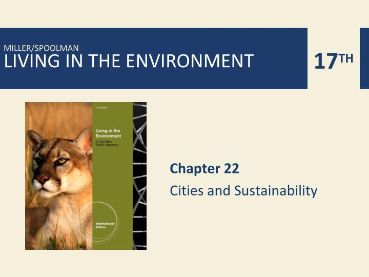 chapter 22 cities and sustainability n.