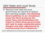gao state and local study