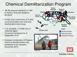 chemical demilitarization program