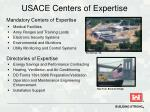 usace centers of expertise