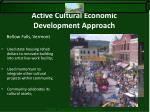active cultural economic development approach2