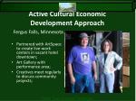 active cultural economic development approach3