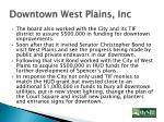 downtown west plains inc2