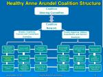 healthy anne arundel coalition structure