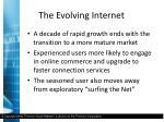 the evolving internet2