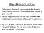 hayek becomes in style