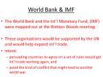 world bank imf