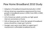 pew home broadband 2010 study