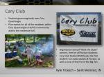 cary club