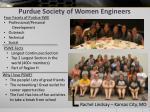 purdue society of women engineers