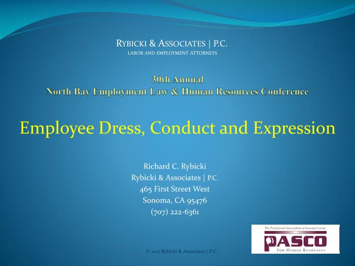 30th annual north bay employment law human resources conference n.