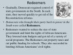 redeemers