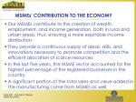 msmes contribution to the economy