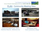 plan community meeting sites