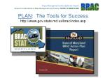 plan the tools for success http www gov state md us brac index asp