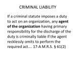 criminal liability1