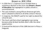 brown vs boe 1954