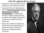 john lugenia burns hope