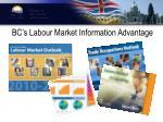 bc s labour market information advantage