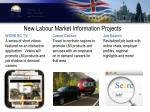 new labour market information projects