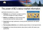 the power of bc s labour market information
