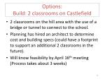 options build 2 classrooms on castlefield1