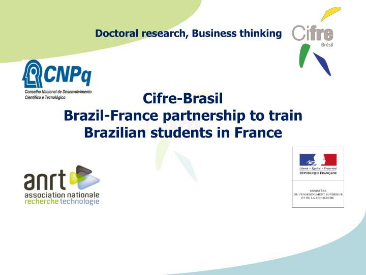 cifre brasil brazil france partnership to train brazilian students in france n.