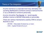 theory of tax integration