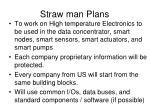 straw man plans
