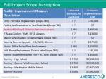 full project scope description1