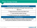 phase i energy savings