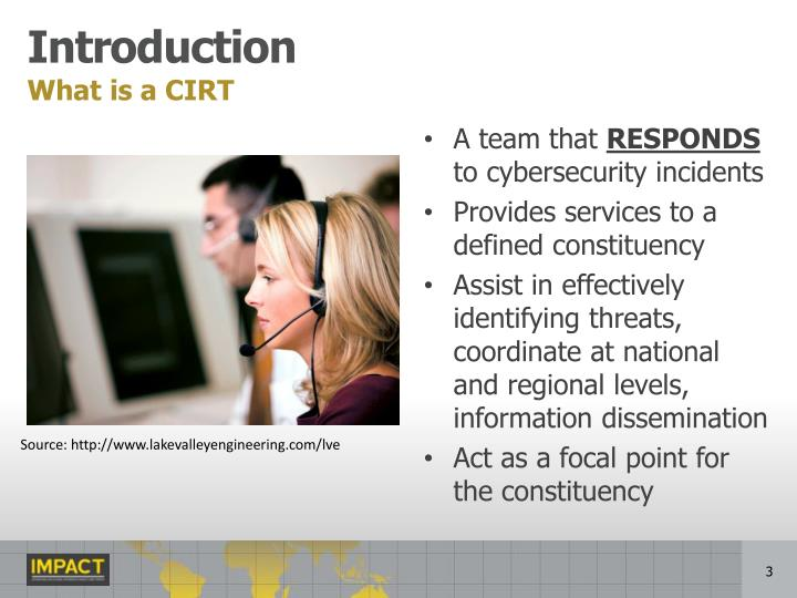 What is a CIRT
