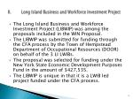 ii long island business and workforce investment project