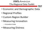stats america the regional data toolkit