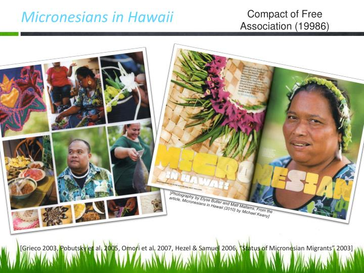 Micronesians in Hawaii