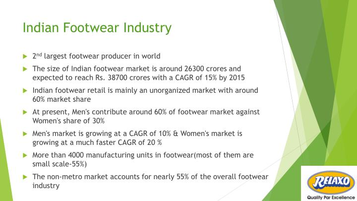 indian footwear industry n.
