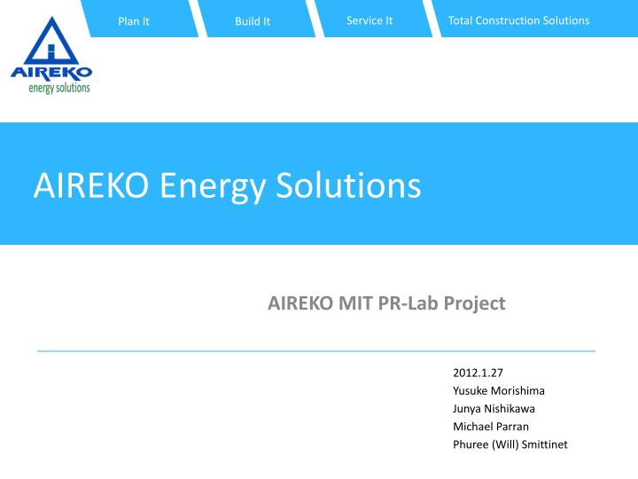 aireko energy solutions n.