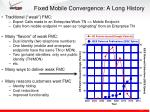 fixed mobile convergence a long history2