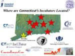where are connecticut s incubators located