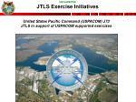jtls exercise initiatives