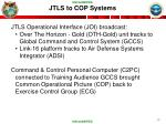 jtls to cop systems
