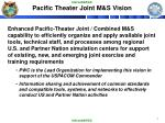pacific theater joint m s vision