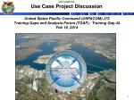 use case project discussion