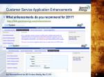 customer service application enhancements4