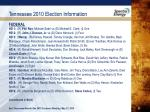 tennessee 2010 election information3