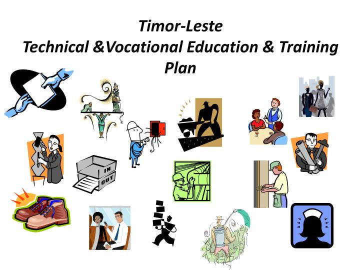 technical and vocational education Vocational education training provides career and technical education to interested students these students are prepared as trainees for jobs that are based upon manual or practical fields jobs are related to specific trades, occupations, and vocations.