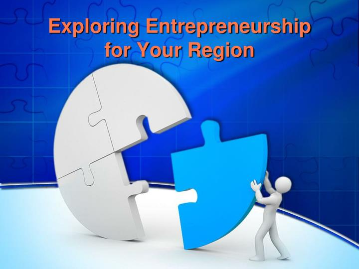 exploring entrepreneurship for your region n.